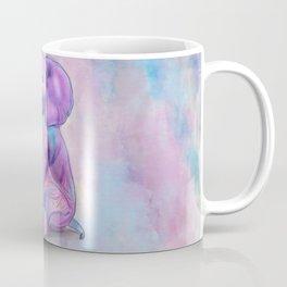 Cute Baby Elephant watercolor pastels Coffee Mug