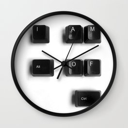 I am Alt of Ctlr Wall Clock