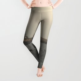 Hazy Straitsmouth lighthouse Leggings