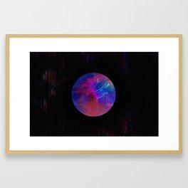 Orb Landscape Framed Art Print