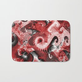 Bloody Abstract Bath Mat