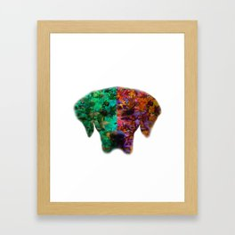 Season Dog Framed Art Print