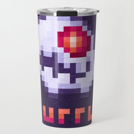 Hurry Von Death Ghost Travel Mug