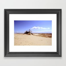 dust in the wind Framed Art Print