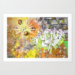 All City Art Print