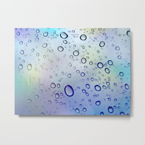 The Raindrops Metal Print