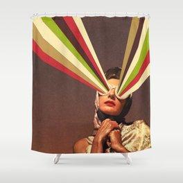 Rayguns Shower Curtain