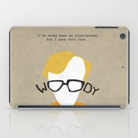 woody iPad Cases featuring Woody by Geminianum