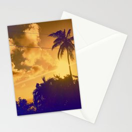 Sunset in the West Indies Stationery Cards