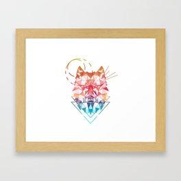 Spirit of the Wolf Framed Art Print