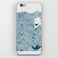 Mermaid Dreams iPhone & iPod Skin