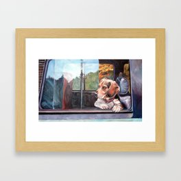 There's Just Something About Beagles Framed Art Print