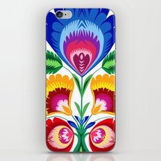 folk flower iPhone & iPod Skin