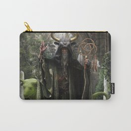V. The Hierophant Tarot Card Illustration (Color) Carry-All Pouch