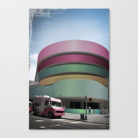 Bubble Gum Guggenheim Canvas Print