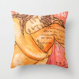 Body Love Throw Pillow