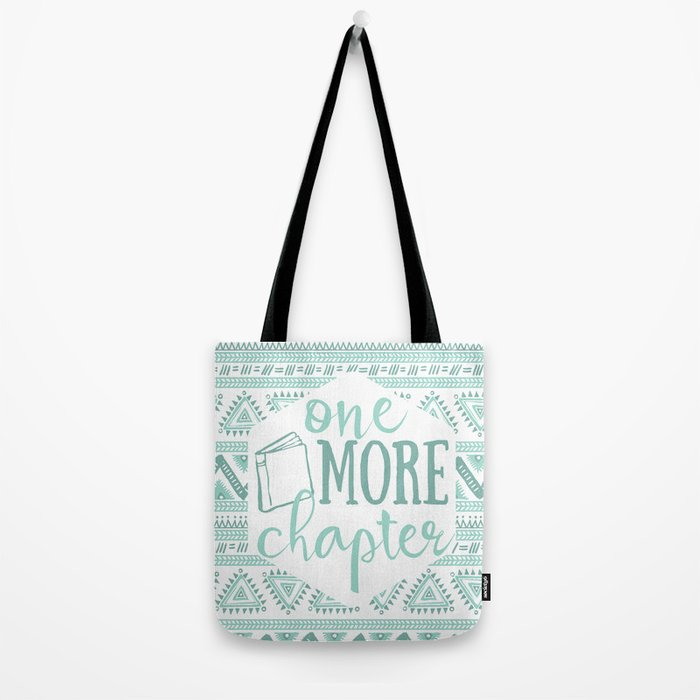 One More Chapter - Tribal  Tote Bag