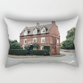 British Architecture Rectangular Pillow