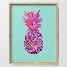 Neon Pineapple Serving Tray
