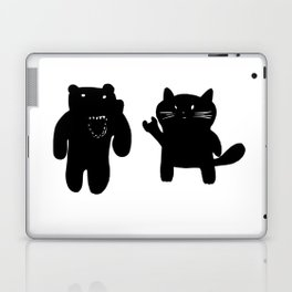 Bear and Cat Laptop & iPad Skin