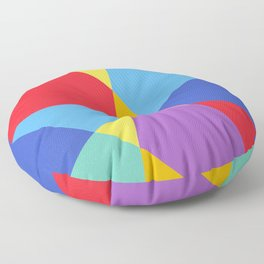 Fragmented Experience Floor Pillow