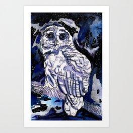 Minerva's Messenger Art Print