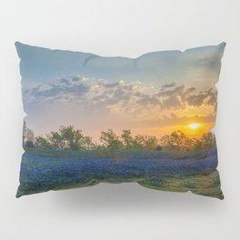 Daybreak In The Land Of Bluebonnets Pillow Sham