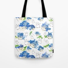 My Neighbour Pattern (White)  Tote Bag