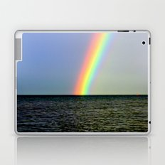 Pot of gold over the Bay Laptop & iPad Skin