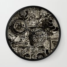 Electric Maze Wall Clock