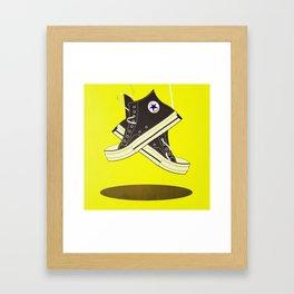 Pumped up kicks Framed Art Print
