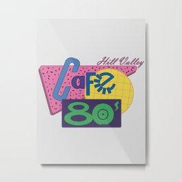 Cafe 80s Metal Print