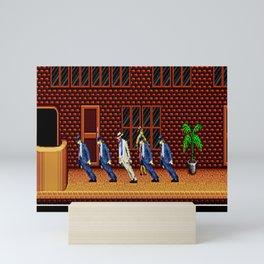 Smooth Annie Game Of Pop Dance Mini Art Print