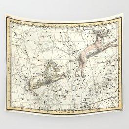 Celestial Atlas Plate 5 Alexander Jamieson, Leo Minor, Lynx Wall Tapestry