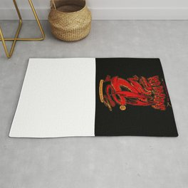 Red Dragons Rug