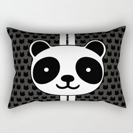 Racing Panda Rectangular Pillow