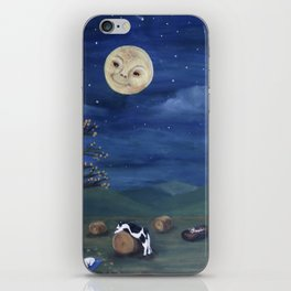Hey Diddle Diddle Goodnight iPhone Skin