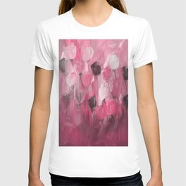 Rose Garden in Shades of Peachy Pink T-shirt