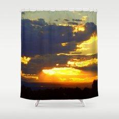 Sunset Splendor Shower Curtain