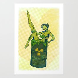 Ghoulie Show Art Print
