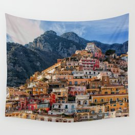 Positano, ITALY #SOCIETY6 #DECOR #BUYART Wall Tapestry
