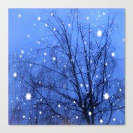 Starlit Tree Canvas Print