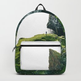 faroe landscape Backpack