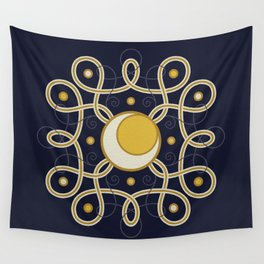 Celestial Convergence Wall Tapestry