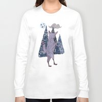 coyote Long Sleeve T-shirts featuring COYOTE by Kevin Whipple