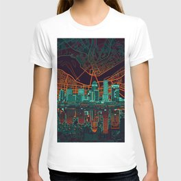 louisville skyline abstract 2 T-shirt