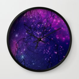 Stars of a Saiyan Wall Clock