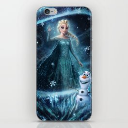 Wanna build a snowman? iPhone Skin