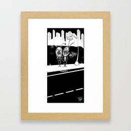 Bug Mafia Framed Art Print