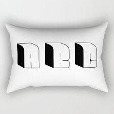 ABC Rectangular Pillow
